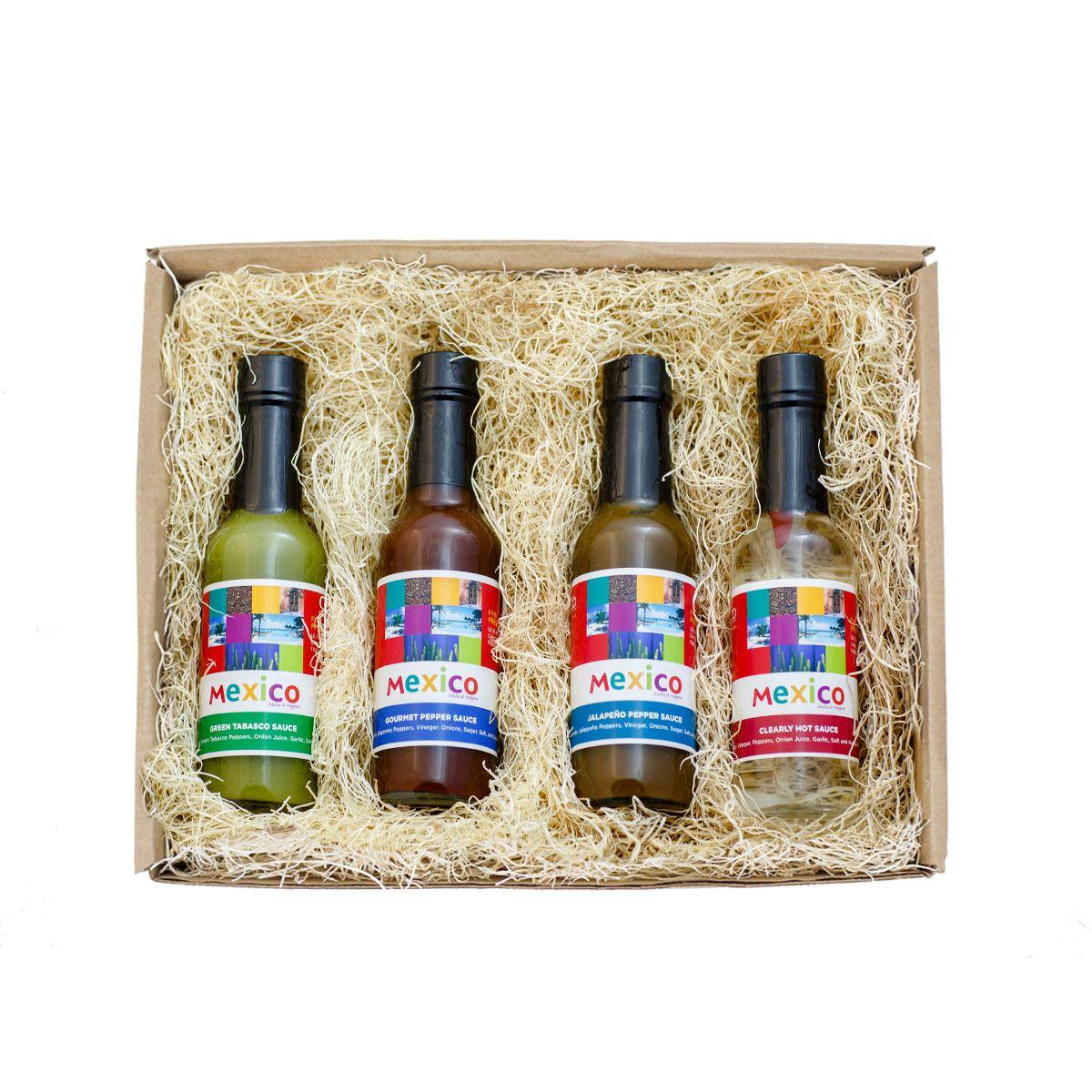 Gourmet Box Hot Sauce Gift Set