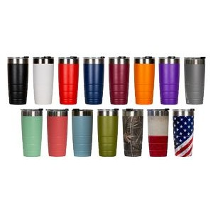 22 Oz. Leakproof Bison Tumbler/Stainless Steel - Custom