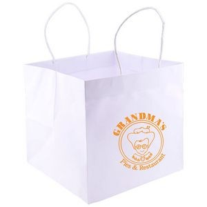 Wide Gusset Takeout Bag (10.25